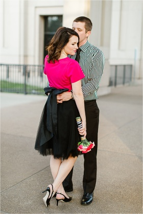 Kate Spade inspired engagement session